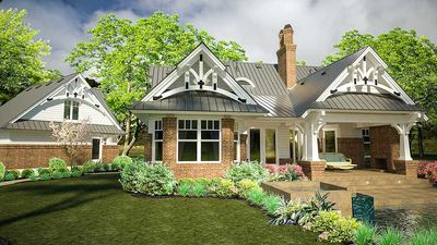 Rustic Look with Detached Garage - 16812WG thumb - 05