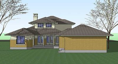Prairie Style Home With Porte Cochere - 16817WG thumb - 05