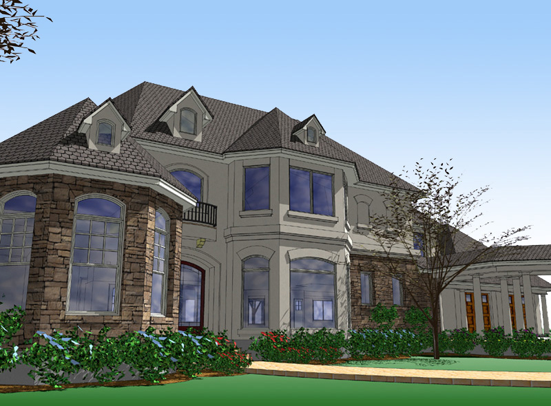 Magnificent european estate 16824wg architectural for European home designs llc