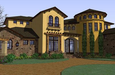 Mediterranean Villa - 16836WG   Architectural Designs - House Plans