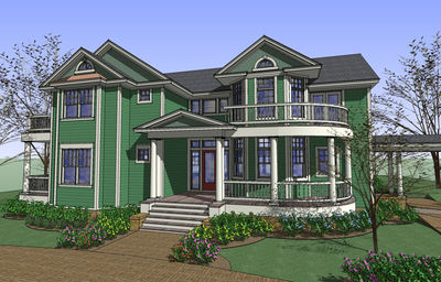 Country Home Plan With Sunroom 16844wg Architectural