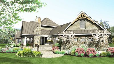 Remarkable Family Home Plan - 16847WG thumb - 10