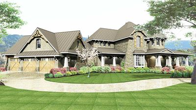 Remarkable Family Home Plan - 16847WG thumb - 11