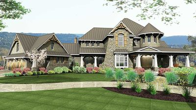 Remarkable Family Home Plan - 16847WG thumb - 12