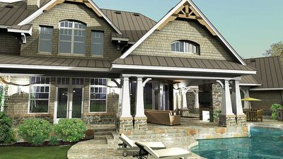 Remarkable Family Home Plan - 16847WG thumb - 13