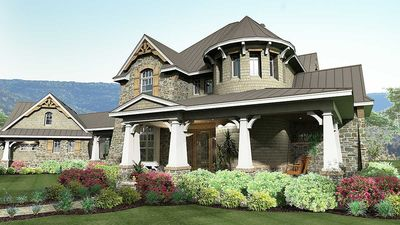 Remarkable Family Home Plan - 16847WG thumb - 02