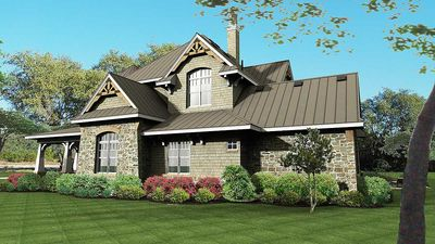 Remarkable Family Home Plan - 16847WG thumb - 04