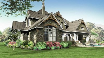 Remarkable Family Home Plan - 16847WG thumb - 05