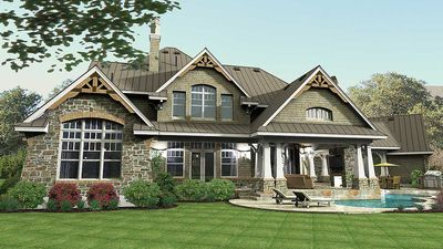 Remarkable Family Home Plan - 16847WG thumb - 06
