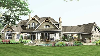 Remarkable Family Home Plan - 16847WG thumb - 07