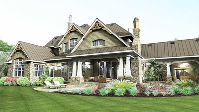 Remarkable Family Home Plan - 16847WG thumb - 08