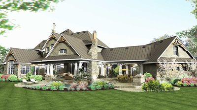 Remarkable Family Home Plan - 16847WG thumb - 09