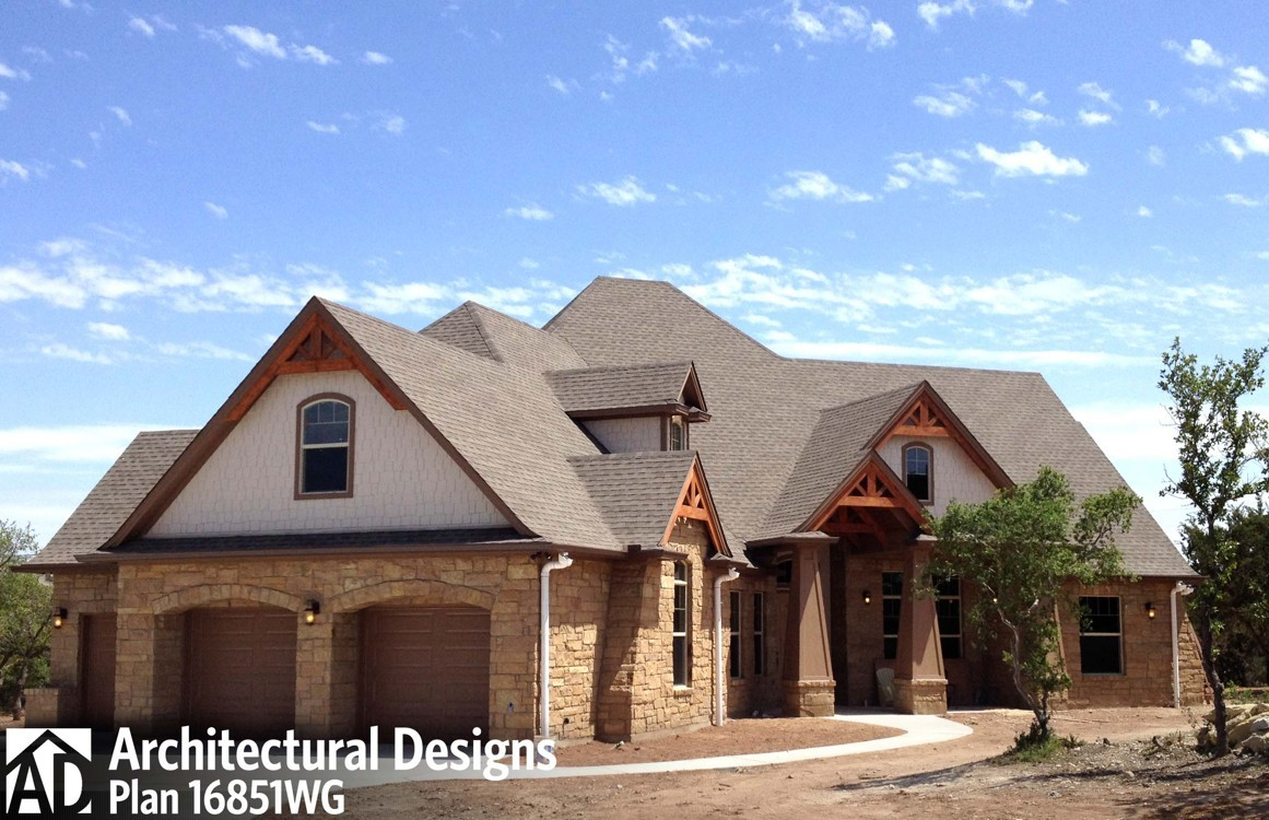 House Plan 16851WG Client-Built In Texas - photo 001