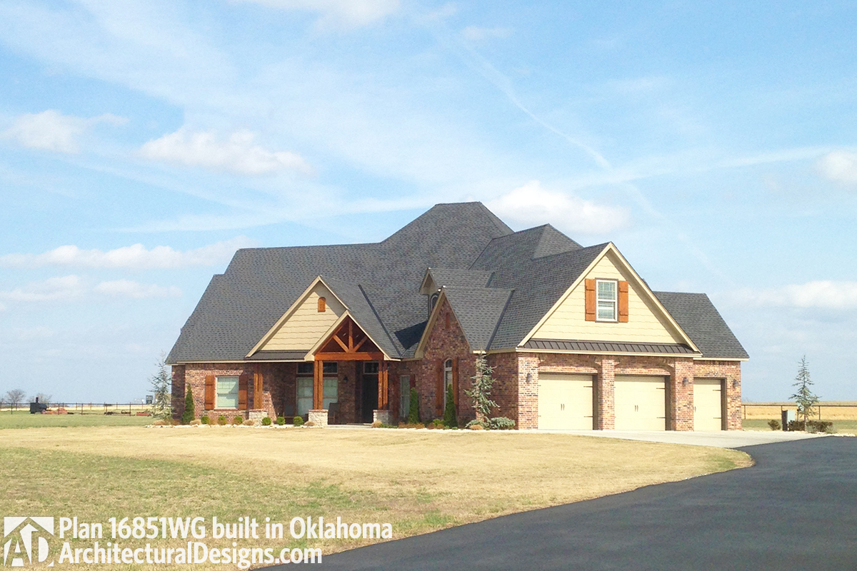 House Plan 16851wg Client Built In Oklahoma