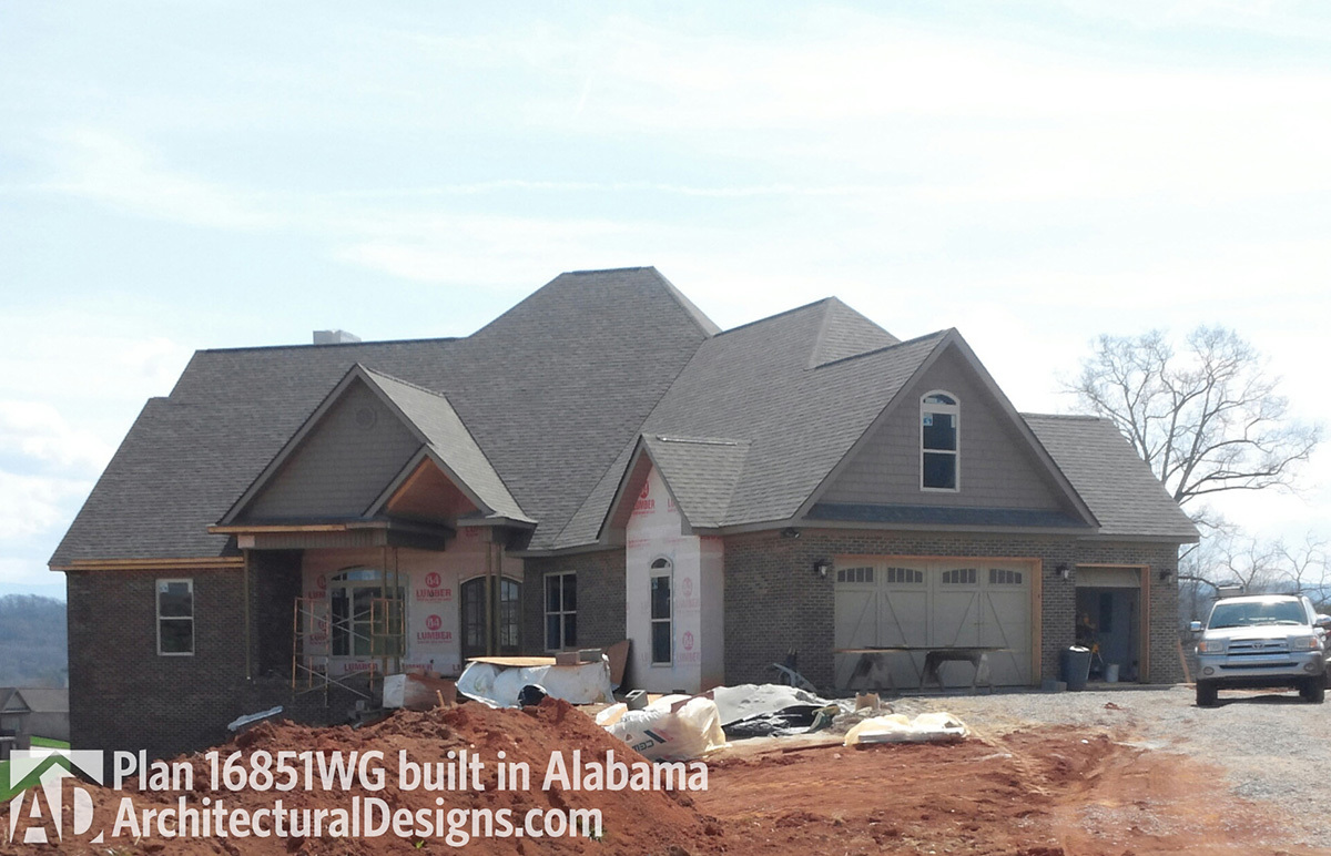 House Plan 16851WG Client-Built In Alabama - photo 001