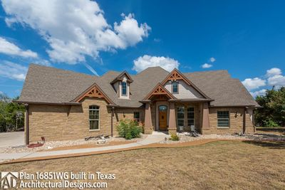 House Plan 16851WG Comes to Life In Texas - photo 002