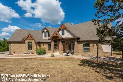 House Plan 16851WG Comes to Life In Texas - photo 004