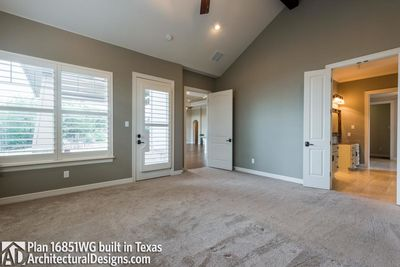 House Plan 16851WG Comes to Life In Texas - photo 029