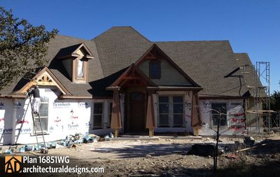 House Plan 16851WG Comes to Life In Texas - photo 074
