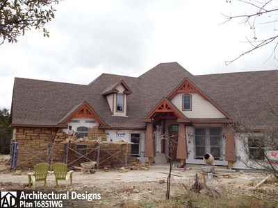 House Plan 16851WG Comes to Life In Texas - photo 065
