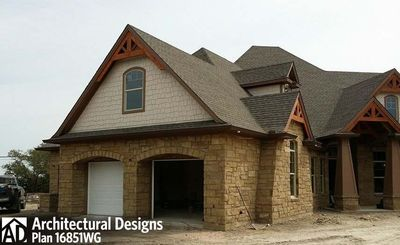 House Plan 16851WG Comes to Life In Texas - photo 057