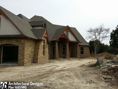 House Plan 16851WG Comes to Life In Texas - photo 055