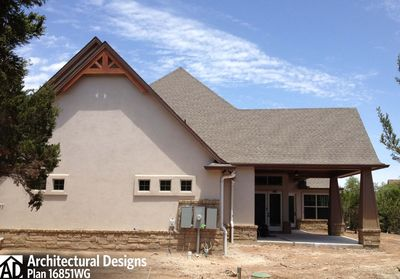 House Plan 16851WG Comes to Life In Texas - photo 053