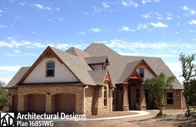 House Plan 16851WG Comes to Life In Texas - photo 008