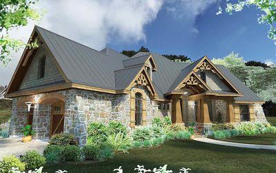 Rugged Craftsman Dream Home Plan - 16851WG thumb - 03