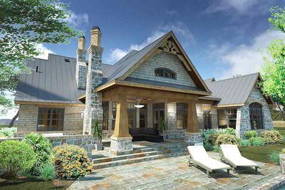 Rugged Craftsman Dream Home Plan - 16851WG | Architectural Designs ...