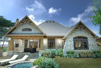 Rugged Craftsman Dream Home Plan - 16851WG thumb - 06