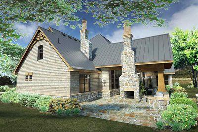 Rugged Craftsman Dream Home Plan - 16851WG thumb - 07