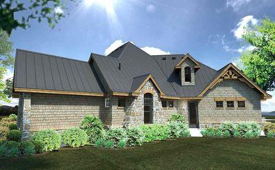 Rugged Craftsman Dream Home Plan - 16851WG thumb - 08