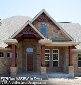 Rugged Craftsman Dream Home Plan - 16851WG thumb - 12