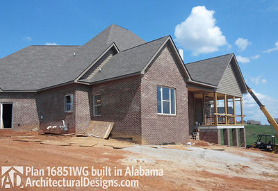 House Plan 16851WG Client-Built In Alabama - photo 003
