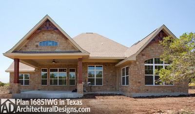 Rugged Craftsman Dream Home Plan - 16851WG thumb - 13