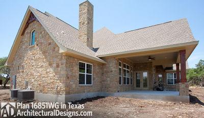 Rugged Craftsman Dream Home Plan - 16851WG thumb - 14