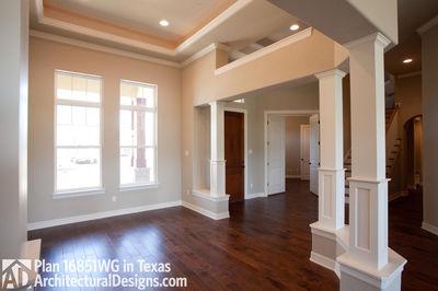 Rugged Craftsman Dream Home Plan - 16851WG thumb - 17