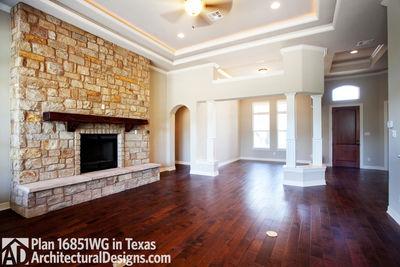 Rugged Craftsman Dream Home Plan - 16851WG thumb - 19