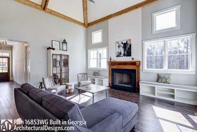 Modern Farmhouse Plan 16853WG comes to life in Georgia! - photo 019