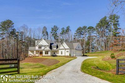 Modern Farmhouse Plan 16853WG comes to life in Georgia! - photo 001