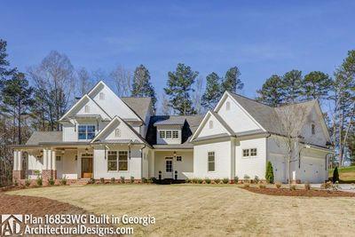 Modern Farmhouse Plan 16853WG comes to life in Georgia! - photo 004