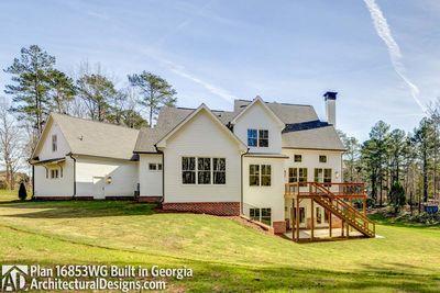Modern Farmhouse Plan 16853WG comes to life in Georgia! - photo 055