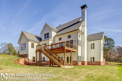 Modern Farmhouse Plan 16853WG comes to life in Georgia! - photo 056