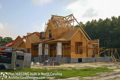 Modern Farmhouse Plan 16853WG comes to life in North Carolina - photo 009