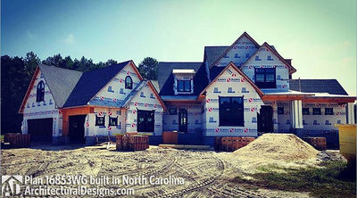 Modern Farmhouse Plan 16853WG comes to life in North Carolina - photo 008