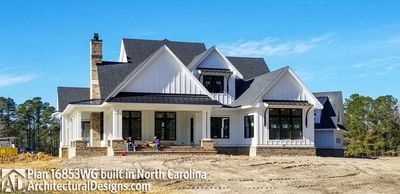 Modern Farmhouse Plan 16853WG comes to life in North Carolina - photo 006