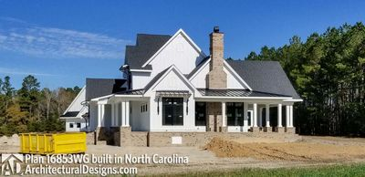 Modern Farmhouse Plan 16853WG comes to life in North Carolina - photo 007