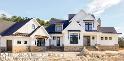 Modern Farmhouse Plan 16853WG comes to life in North Carolina - photo 002