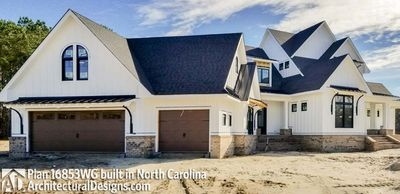Modern Farmhouse Plan 16853WG comes to life in North Carolina - photo 003